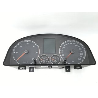 Original VW Touran 1T Tacho Kombiinstrument Cockpit Speedometer 1T0920873E